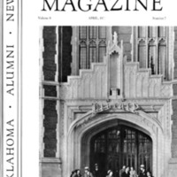 Sooner Magazine Cover