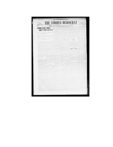 The Stroud Democrat (Stroud, Okla.), Vol. 5, No. 27, Ed.pdf